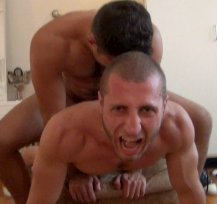Gay sex in pain